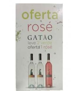 V. Verde Gatao 2 x 0.75+1 Gatao Rose(Gratis) (JMV)