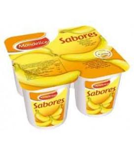Iogurte Mondelice Banana 125gr 4 un cx/6 Pack