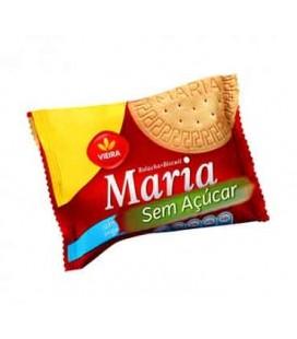 Bolacha Maria VIEIRA CASTRO S/ Acucar 25gr cx/80