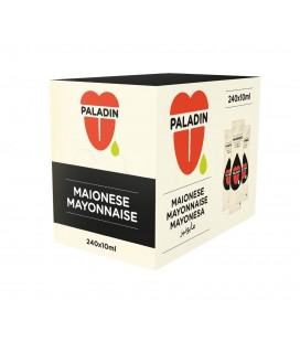 Maionese Paladin Base c/ 240 saquetas de 12ml