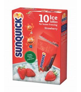 Preparado Gelado Sunquick Ice Morango 10 un cx/12
