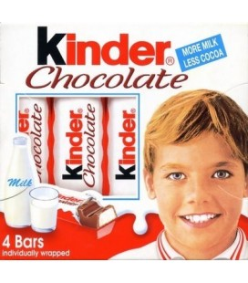 Chocolate Kinder Barritas T4x20