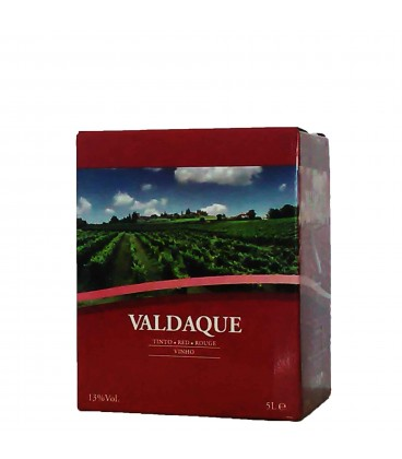 V. Tinto 20 Litros VALDAQUE 13º Bag in Box