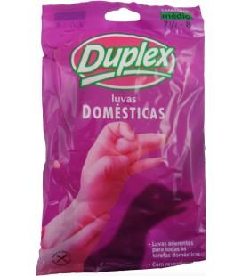 Luvas Duplex Borracha Hand Care Medias (1 Par)