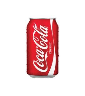 Coca Cola Lata UE 0.33 cx/24(Etiqueta há parte)