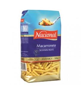 Massa Nacional Macarronete 500gr cx/18