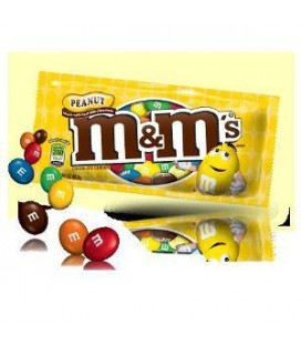 Chocolate M&M Amendoim cx/24