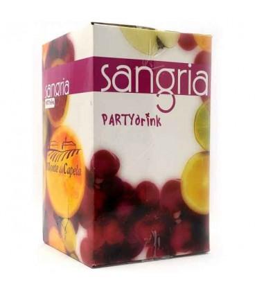 Sangria Party Drink 10 Lt Bag in Box