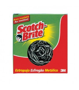 Esfregao Scotch Brite Inox cx/72