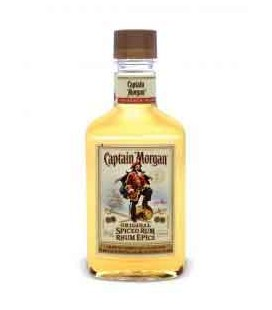 Frasco Rum CAPITAN MORGAN GOLD 0.20 cx/48