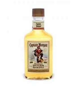 Frasco Rum CAPITAN MORGAN GOLD 0.20 cx/48