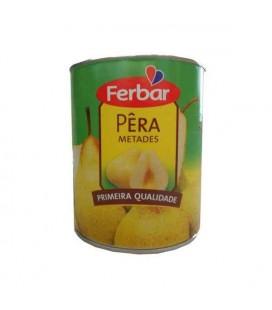 Pera Calda Metades 1Kg 840gr Ferbar cx/6