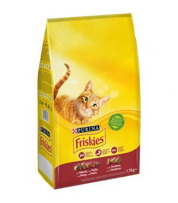 Friskies Gato Boi/ Frango/ Legumes 1.5kg cx/6