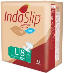 Fralda Indaslip Premium Air Soft L8 cx/4 pak x 20