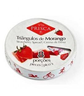 Triangulos Morango 8 Porcoes PRISCA 170gr cx/12