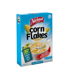 Cereais Nacional Corn Flakes 500gr cx/8