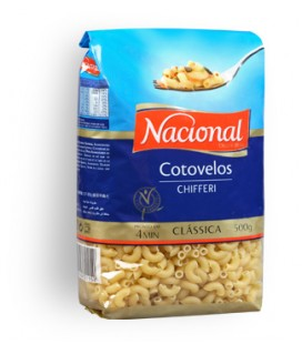 Massa Nacional Cotovelos 500gr cx/18