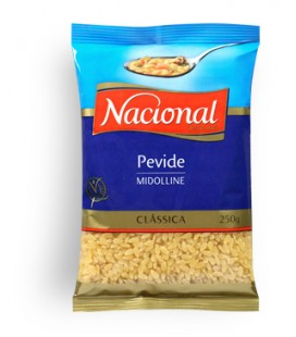 Massa Nacional Pevide 250gr cx/32