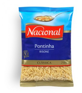Massa Nacional Pontinha 250gr cx/40