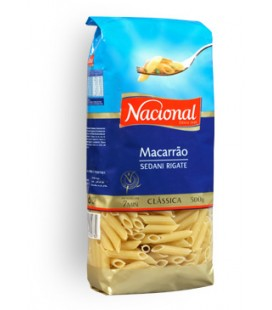 Massa Nacional Macarrao 500gr cx/15