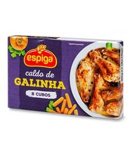 Caldo de galinha 8 cubo Espiga cx/12