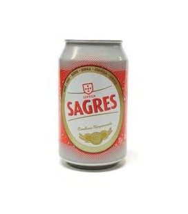 Cerveja Sagres Lata 0.33 Lt