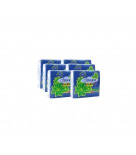 Guardanapos Joker Tipo Tecido Azul 40x40 cx/24