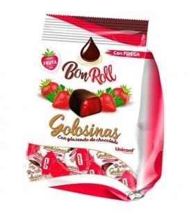 Bombons de Gelatina com chocolate morango 80gr
