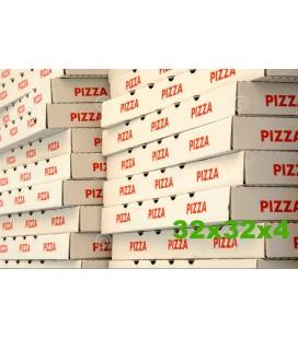 Caixas para Pizza 32x32x4 cx/100