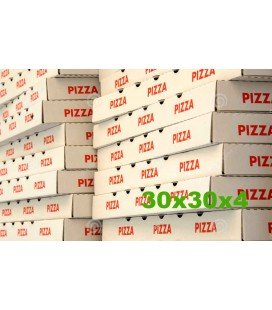 Caixas para Pizza 30x30x4 cx/100
