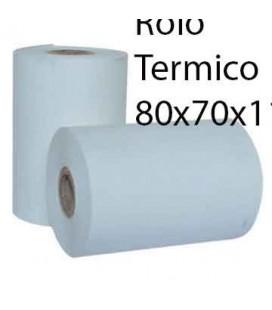 Rolo Papel Termico 80x70x11