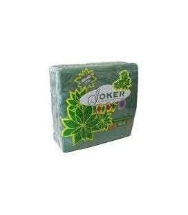 Guardanapos Joker Tipo Tecido Verde 40x40 cx/24