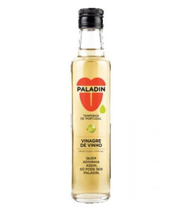 Vinagre Vinho Branco Paladin Vidro 0.25 cx/6