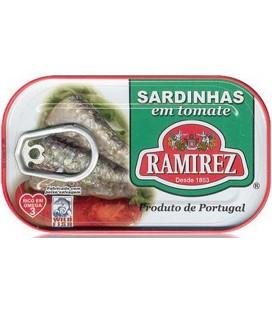 Sardinha Ramirez em Tomate 125gr