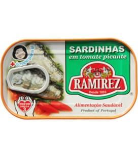 Sardinha Ramirez em Tomate Picante 125gr
