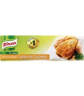 Knorr Caldo Galinha 16 cubos cx/40 un