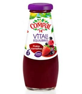 Compal 0.20 Vidro Vital Frutos Vermelhos cx/15