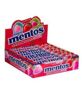 Mentos Stick Morango 40gr cx20