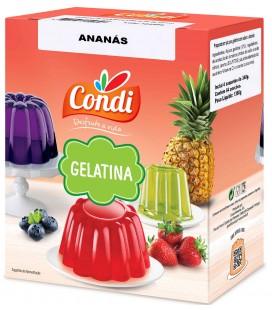 Gelatina Ananas CONDI 1.36kg cx/13