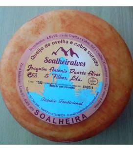 Queijo Soalheira (Ovelha+Cabra) (aprox:0.8 kg)