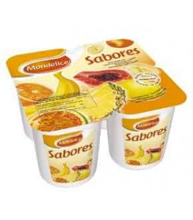 Iogurte Mondelice Tutti Fruti 125gr 4 un cx/6 Pack