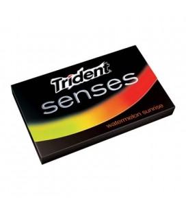 Pastilha Trident Senses Melancia Sunrise cx/12