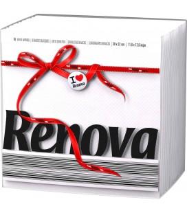Guardanapos RENOVA 1 folha 33x33 cx/36 un