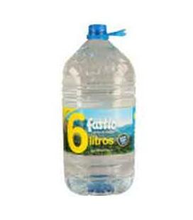 Agua Fastio 6 Litros cx/ 2 un