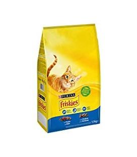 Friskies Gato Atum/ Legumes 1.5Kg cx/6