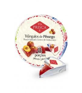 Triangulos Pessego 8 Porcoes PRISCA 170gr cx/12