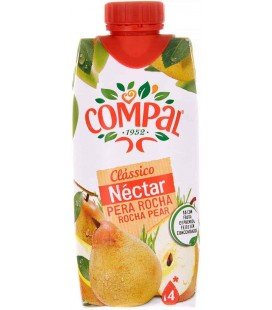 Compal Tetra Pera Rocha 18x0.33 Lt