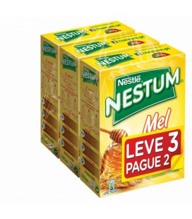 Nestum Mel 300 gr Leva 3 Paga 2 cx/18