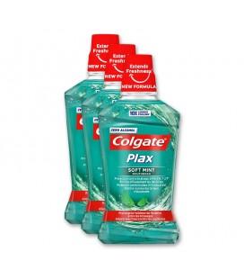 Elixir Oral Colgate Plax verde 500ml cx/12