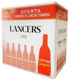 V. Lancers Rose 0.75 5 + 1 Lancers sangria oferta